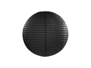Lampion papierowy, czarny 35cm