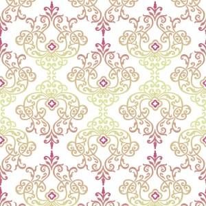 """Serwetki flizelinowe ze wzorem - Serwetki flizelinowe wzorzyste """"Wencke"""", bordo / 40x40"""