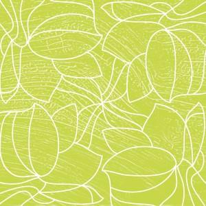 Serwetki flizelinowe 40x40, wzorzyste ''Hugo'' jasnozielone