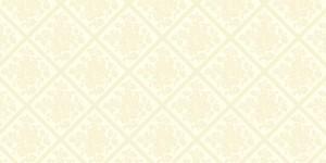 """Bieżniki flizelinowe wzorzyste - Bieżnik flizelinowy wzorzysty """"Damast"""", ecru / 40cmx24m"""