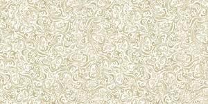 """Bieżniki flizelinowe wzorzyste - Bieżnik flizelinowy wzorzysty""""Lias"""", biały-ecru / 40cmx24m"""