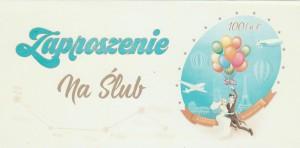 Zaproszenia ślubne gotowe - Zaproszenia ślubne / ArtN ZSV 11
