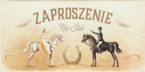 Zaproszenia ślubne gotowe - Zaproszenia ślubne / ZSV09