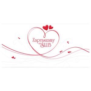 Zaproszenia na ślub ArtN ZZ 0101