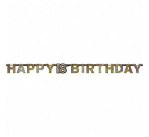 Girlandy cyfry i liczby - Girlanda flagietki na 18 urodziny / 9900553