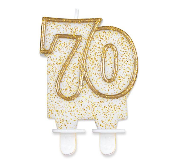 Zaproszenia na 70 urodziny, balony na 70, akcesoria na 70