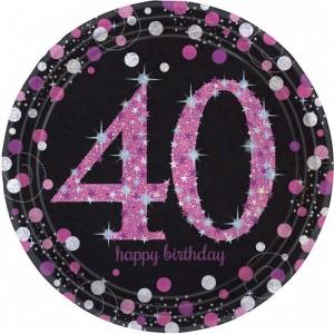 Akcesoria na 40 urodziny