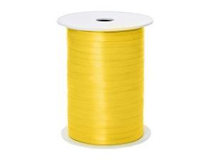 Wstążka pastelowa 0,5cmx500m,żółta