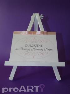 Zaproszenia komunijne na zamówienie - Zaproszenia komunijne MZK-PA17-005