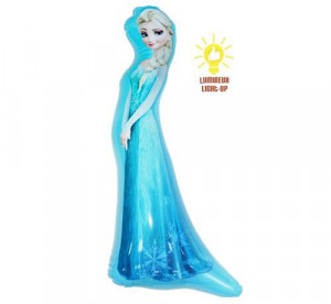 "Dmuchaniec ""Elsa"" (świecąca) - 55 cm"