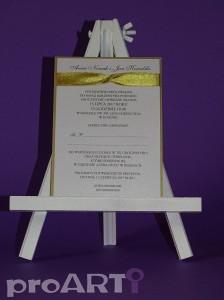Zaproszenia ślubne MZS-BA17-016