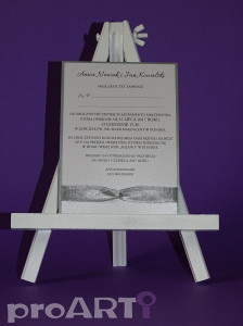 Zaproszenia ślubne MZS-BA17-017