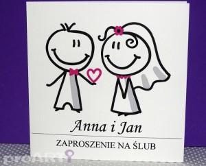 Zaproszenia ślubne MZS-D-009