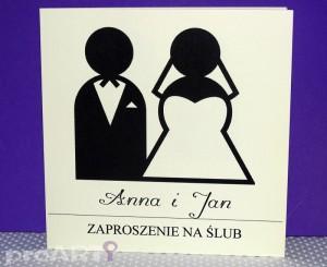 Zaproszenia ślubne MZS-D-006