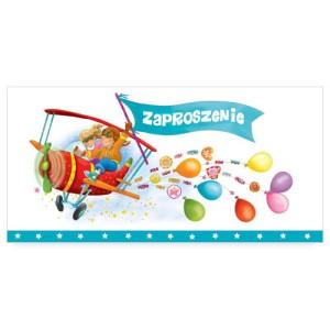 Zaproszenia na urodziny - Zaproszenia na urodziny dziecka / ZU08