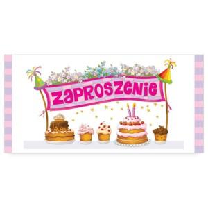 Zaproszenia na urodziny - Zaproszenia na urodziny dziecka / ZU04