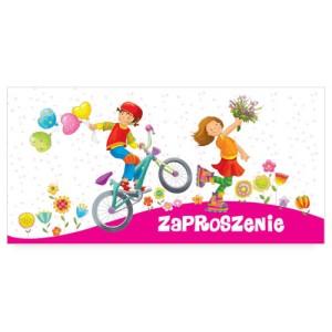 Zaproszenia na urodziny - Zaproszenia na urodziny dziecka / ZU07