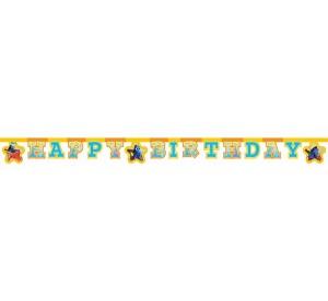 """Girlandy napisy - Baner """"Gdzie jest Dory- Happy Birthday"""""""