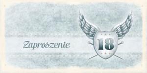 Zaproszenie na 18 urodziny ArtN ZO-04