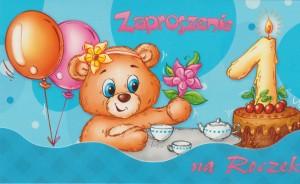 Zaproszenie na roczek MK-Z 235