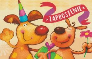 Zaproszenia na urodziny - Zaproszenia na urodziny dziecka / Z.C6-483