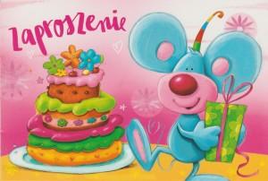 Zaproszenia na urodziny - Zaproszenia na urodziny dziecka / Z.C6-474