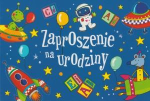 Zaproszenia na urodziny - Zaproszenia na urodziny dziecka dla chłopca / Z.C6-571