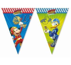 "Banner ""Mickey Roadter Racers"", flagi"