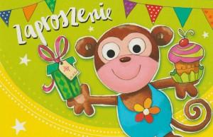 Zaproszenia na urodziny - Zaproszenia na urodziny dziecka / Z.C6-482