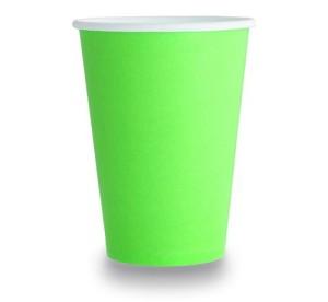 Kubeczki papierowe 20cl, zielone