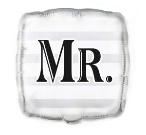 """Balony foliowe kształty z napisami - Balon foliowy """"Mr"""" / 45,7 cm"""
