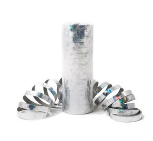Serpentyny zwykłe - Serpentyna holograficzna srebrna / SH24SR-VT