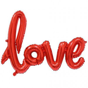 Napisy Love na Walentynki
