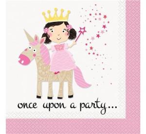 """Serwetki papierowe """"Princess Unicorn"""""""