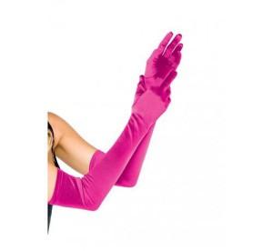 Rękawiczki - Rękawiczki ciemny róż / 02507
