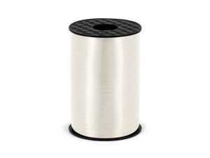 Wstążka plastikowa, biała, 5mm/225m