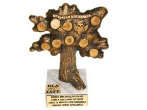 Prezenty dla Taty - Drzewko szczęścia dla taty