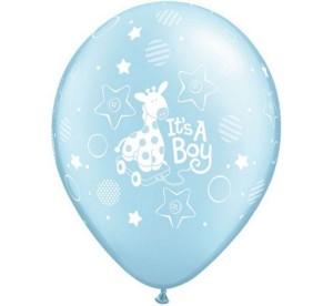 """Balony lateksowe z nadrukiem - Balony 12"""" """"It`s a boy"""""""