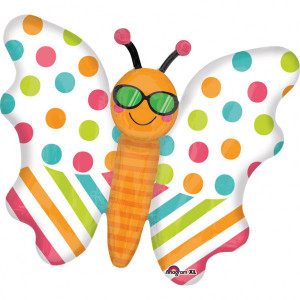 "Balon foliowy SuperShape ""Motyl"", 76x60 cm"