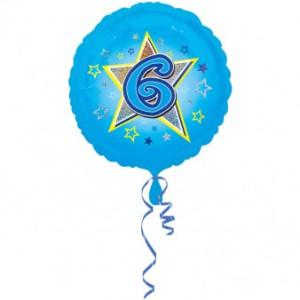 Balony na 6 urodziny