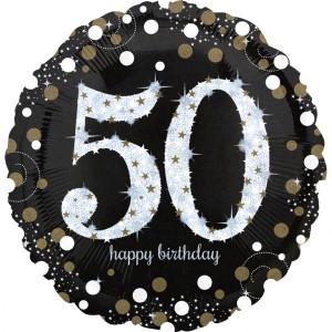 Balon foliowy Jumbo 50-urodziny