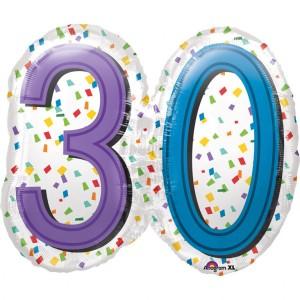 Balon foliowy SuperShape, 30 Urodziny
