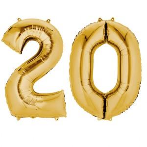 Akcesoria na 20 urodziny