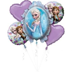 """Bukiet 5 balonów foliowych """"Disney Kraina Lodu"""""""