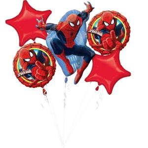 """Bukiet 5 balonów foliowych """"Ultimate Spider-Man"""""""