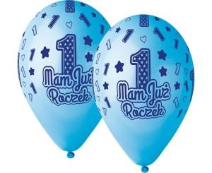 """Balony lateksowe cyfry i liczby - Balony lateksowe """"Mam Już Roczek"""" / GS120/MJRN"""
