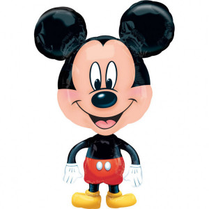 """Balon foliowy """"Myszka Miki"""", chodzący 53 x 76 cm"""
