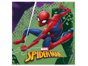 """Serwetki papierowe """"Spiderman Team Up"""", rozm. 33x33cm"""