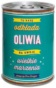 Skarbonki z imieniem - Skarbonka z imieniem Oliwia PRZECENA