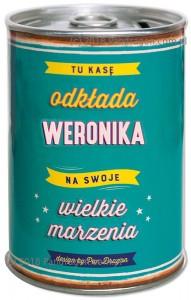 Skarbonki z imieniem - Skarbonka z imieniem Weronika PRZECENA